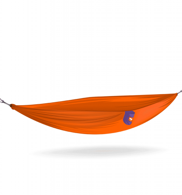 fire orange hammock