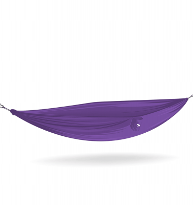 hippo purple hammock